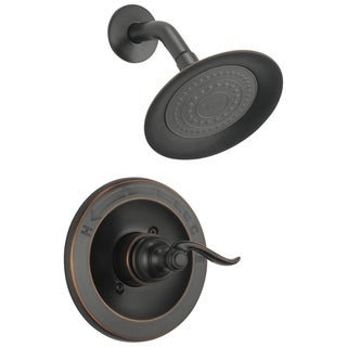 Delta Foundations Monitor 14 Series Oil Rubbed Bronze Shower Head and Trim Set
