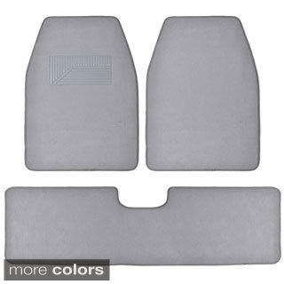 BDK Grey 3-piece Van/ Truck Floor Mat Set