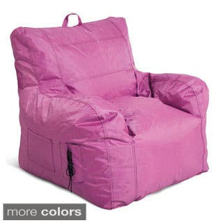 Jordan Manufacturing Small Bean Bag Chair|https://ak1.ostkcdn.com/images/products/9811348/P16977413.jpg?impolicy=medium