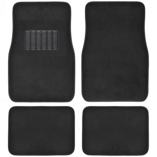 BDK Black 4-piece Car Floor Mat Set