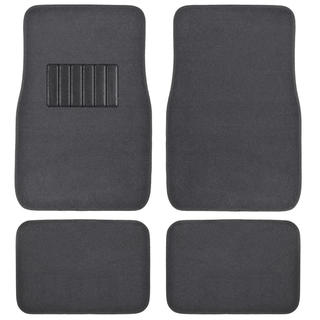 BDK Charcoal 4-piece Car Floor Mat Set