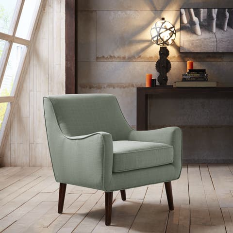 Madison Park Liam Mid Century Accent Chair 3-Color Option