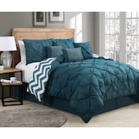 Porch & Den Red Cliff 7-piece Reversible Comforter Set