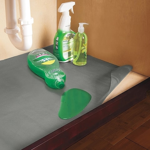 Con-Tact Brand Non-Adhesive Non-Slip Under Sink Mat, 24-inch x 48-inch, (Pack of 6)