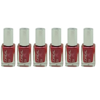 L'Oreal Project Runway The Queen's Might 296 Nail Polish (Pack of 6)