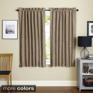 Blackout Curtains blackout curtains 63 : Aurora Home Solid Insulated Thermal Blackout 63-inch Curtain Panel ...