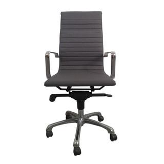 Aurelle Home High Back Grey Office Chair