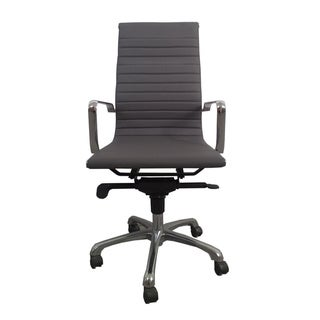Aurelle Home High Back Grey Office Chair