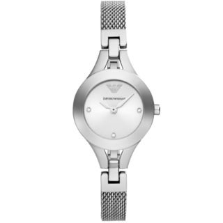 Emporio Armani Women's AR7361 'Classic' Silver Stainless Steel Watch