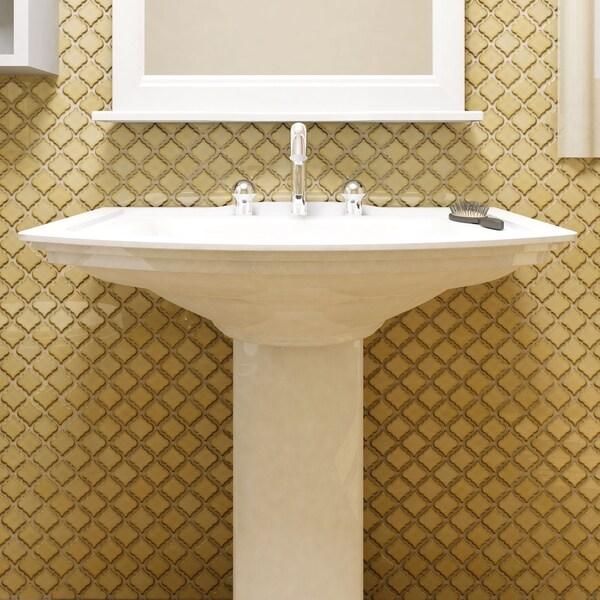 Somertile 12 5 x antaeus caffe porcelain for 10 inch floor tiles