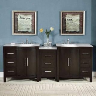 brushed bathroom vanities & vanity cabinets - shop the best brands