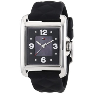 Tommy Hilfiger Women's 1781244 Black Silicone Watch