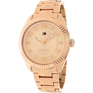 Tommy Hilfiger Women's 1781344 Rose-tone Stainless Steel Watch