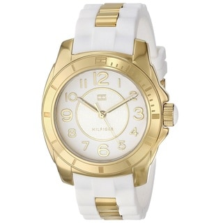 Tommy Hilfiger Women's 1781309 White Silicone Watch