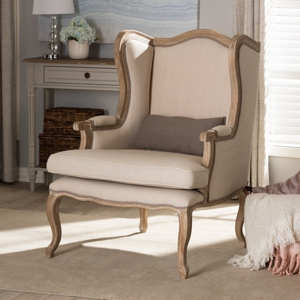 Traditional French Accent Chair by Baxton Studio
