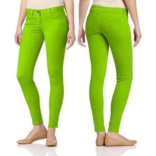 Juniors' Skinny Color Pants