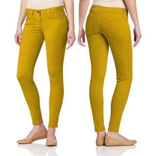 Juniors' Skinny Color Pants