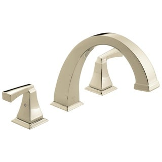 Delta Polished Nickel Dryden Roman Tub Trim