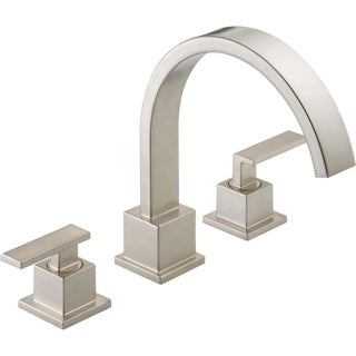 Delta Brilliance Stainless Vero Roman Tub Trim