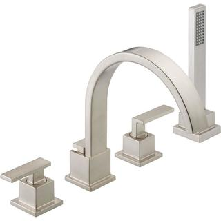 Delta Vero Roman Tub Trim with Hand Shower T4753-SS Stainless