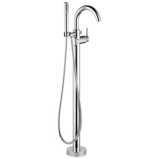 Delta Trinsic Contemporary Floor Mount Tub Filler Trim T4759-FL Chrome