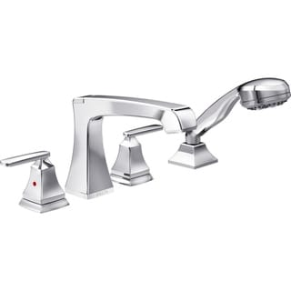 Delta Chrome Ashlyn Roman Tub with Hand Shower Trim