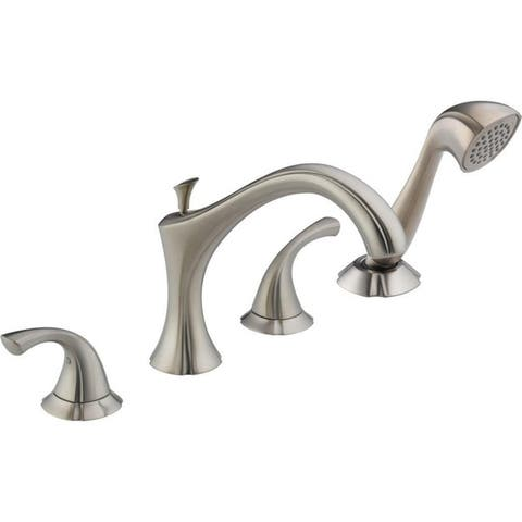 Delta Addison Roman Tub Faucet Trim with Hand Shower Stainless