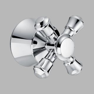 Delta Chrome Cassidy Single Cross Bath Handle Kit