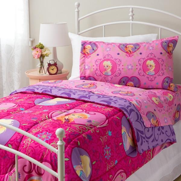 Shop Disney Frozen Friendship Twin 4 Piece Bed In A Bag Set Free