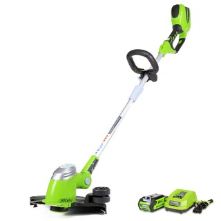 GreenWorks G-MAX 40V 13-inch Cordless String Trimmer with 2Ah Battery and Charger