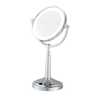 Conair Be116t Lighted Satin Nickel Makeup Mirror Free