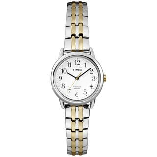 Timex Women's T2P298 Easy Reader Two-tone Expansion Band Dress Watch|https://ak1.ostkcdn.com/images/products/9813156/P16978921.jpg?impolicy=medium
