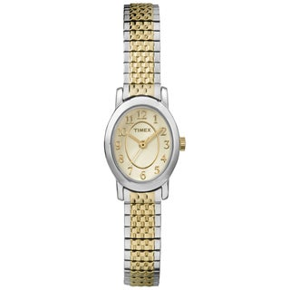 Timex TW2P602009J Women's Cavatina Two-tone Expansion Watch