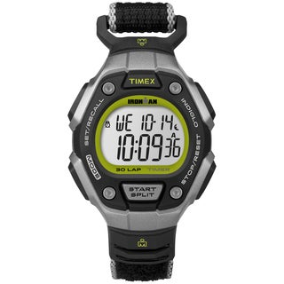 Timex TW5K898009J Women's Ironman Classic 30 Black/ Lime Watch