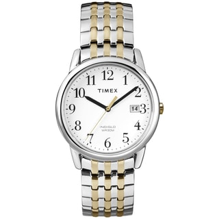 Timex Men's T2P295 Easy Reader Two-tone Expansion Band Dress Watch