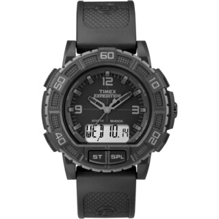 Timex Men's TW4B00800 Expedition Double Shock Black Watch