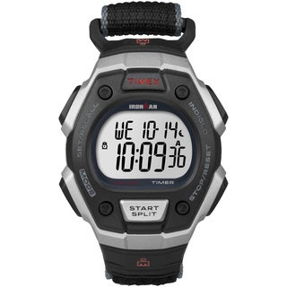 Timex Men's T5K826 Ironman Classic 30 Black Fast Wrap Watch