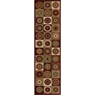 "Anthology Collection Laguna Multi Olefin Area Rug (2'3"" x 8')"