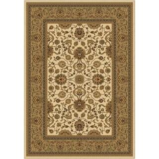 Carolina Weavers American Heirloom Collection Serapi Linen Area Rug (3'11 x 5'5)