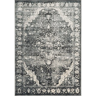 Kingsley Grey Oriental Rug (3'9 x 5'6)