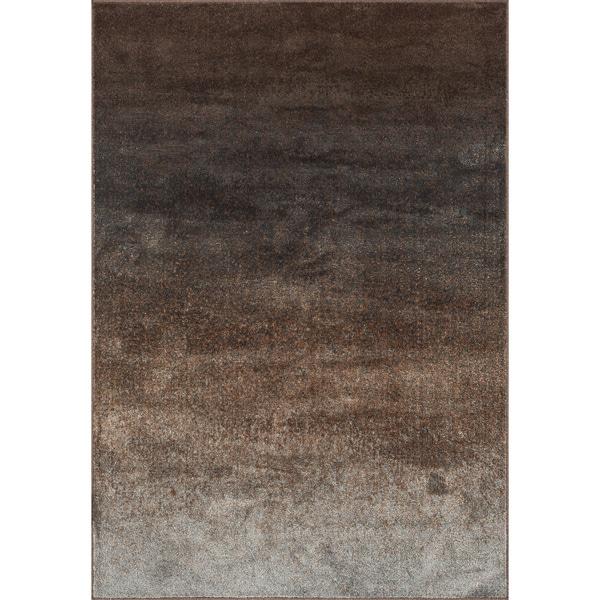Abstract Brown/ Grey Granite Rug - 9'2 x 12'2
