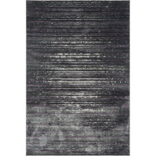 Kingsley Pewter/ Purple Rug (2'3 x 3'9)