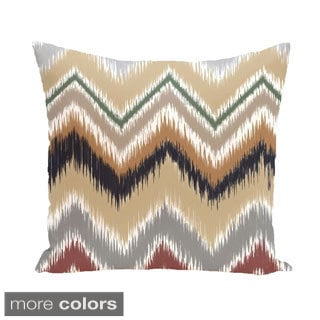 Southwest Chevron 18-inch Square Decorative Pillow