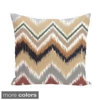 Southwest Chevron 18-inch Square Decorative Pillow