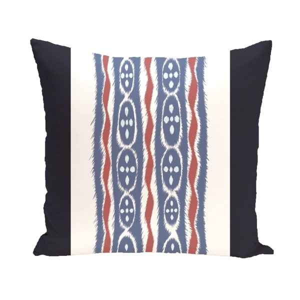 Tribal Stripes 20-inch Square Decorative Pillow