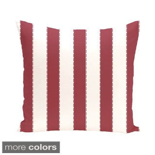 Nautical Stripes 26-inch Square Decorative Pillow