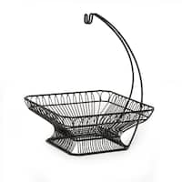 French Countryside Fruit Basket With Banana Hook