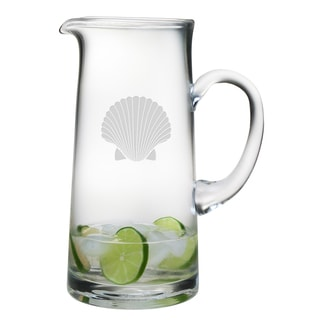 Fan Shell 60-ounce Tankard Pitcher