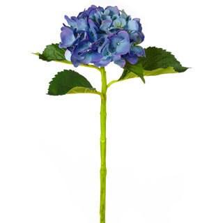 19-inch Blue Hydrangea Spray (Pack of 6)
