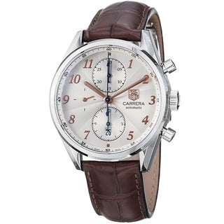 Tag Heuer Men's CAS2112.FC6291 Carrera Silver Watch